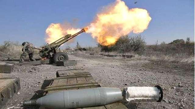 На Донбасі «озвалася» ворожа артилерія