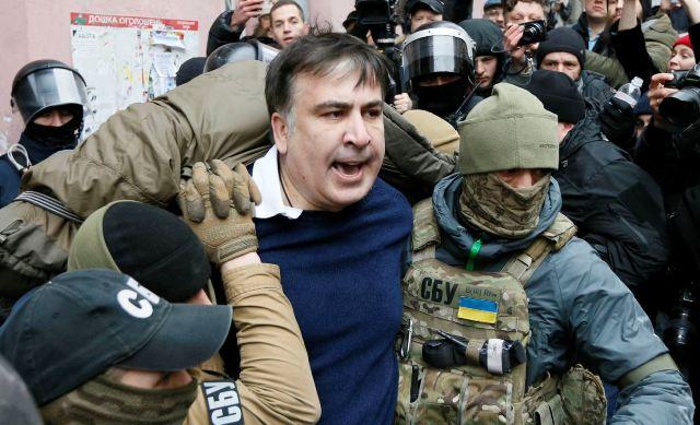 Міхеіл Саакашвілі заарештований СБУ