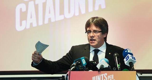Каталонський лідер повертається з еміграції