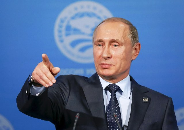 Очікуване рішення Володимира Путіна