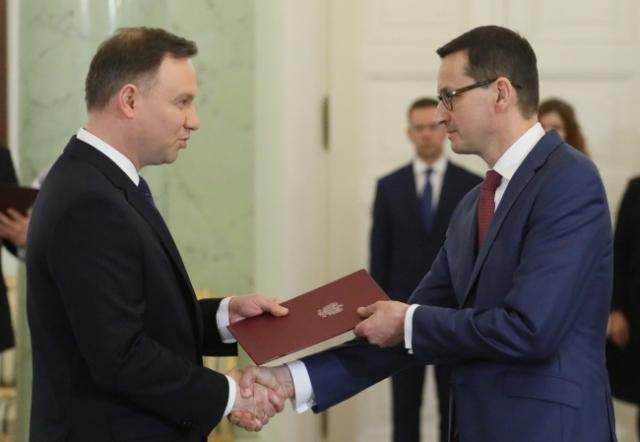 Новий прем'єр Польщі вже заявив про себе