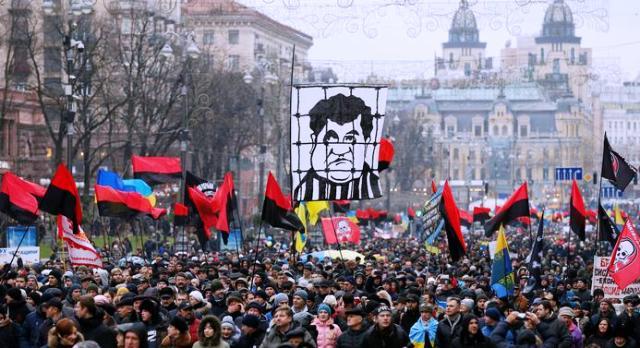 Масова акція на підтримку Міхеіла Саакашвілі