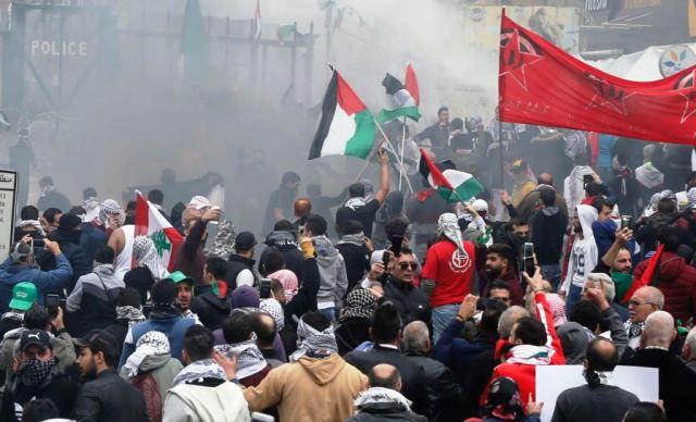 Антиамериканська акція у Бейруті