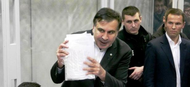 Міхеіл Саакашвілі у ролі прокурора