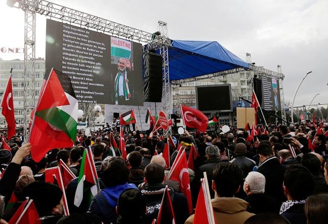 Туреччина активно підтримує палестинців