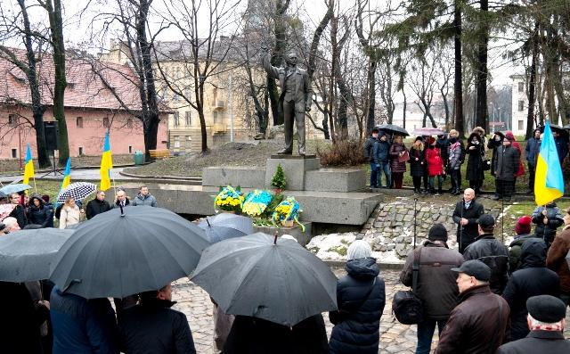 Вшанування пам'яті В'ячеслава Чорновола