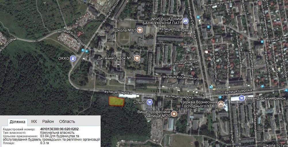 Львівські римо-католики отримали землю на Левандівці